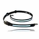 "FIREFIGHTER'S RADIO STRAP WITH 1/2"" REFLECTIVE RIBBON"