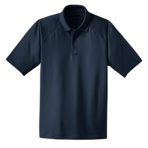 CornerStone® - Tall S/S 100% Polyester Snag-Proof Tactical Polo - EMS
