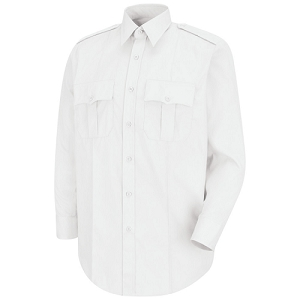 L/S POLY/COTTON CLASS B SHIRT - CHIEF/DC/CAPT