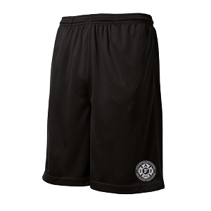 Sport-Tek PosiCharge Tough Mesh Pocket Short - Embroidered