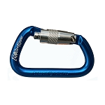 Omega Pacific NFPA Locking Alum Modified D Carabiner