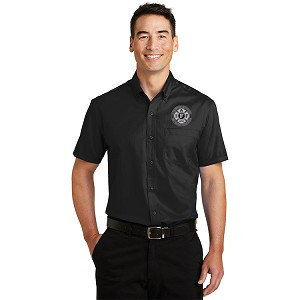 Port Authority Short Sleeve SuperPro Twill Shirt - Embroidered
